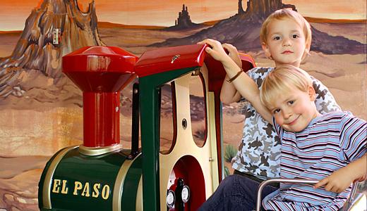 Kindereisenbahn in Jolos Kinderwelt