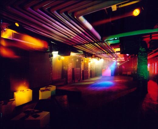 Tanzfläche des Clubs Rote Sonne in München