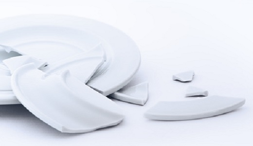 Polterabend - Zerbrochenes Porzellan