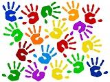 Bunte Hände - Polterabend Aktionsspiele