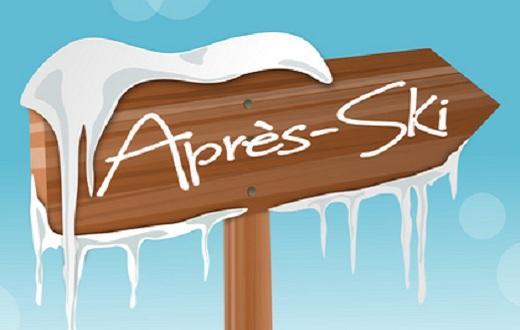Apres Ski Schild