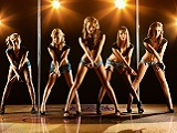 Junggesellenabschied bei einer Tanzshow