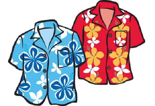 Hawaii-Hemden als Party-Outfit
