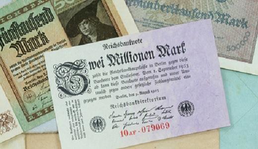 Banknote aus den 20er Jahren
