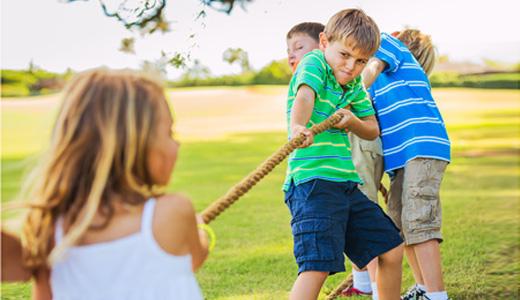 Kindergeburtstag Spiele Draußen Im Garten